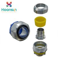 LTC Heavy Duty Flexible Straight Connector / Split Type Quick Copper Fitting Manufactures