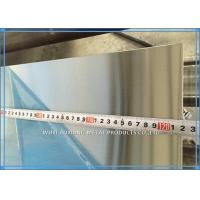 China ASTM Hot Rolled / Cold Rolled Stainless Steel Sheet 201 / 304 / 316L HL 8K on sale