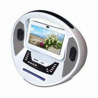 7 Inches Portable DVD Player with 25W Power Consumption, Built-in FM Radio and Game Interface Manufactures