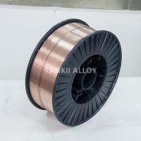 China 1.6mm CuSn6 Tin Copper Alloy Thermal Spray Wire Copper Coated Color Wire on sale