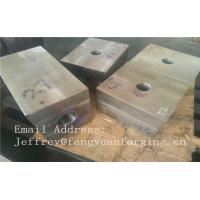 SA182 F316 F304 SForged Steel Products Forgings Block Solution Milled And Drilling Manufactures