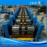 China Automatic Cold Roll Forming Machine Hydraulic Cutting U Purlin Shape ISO9001 on sale