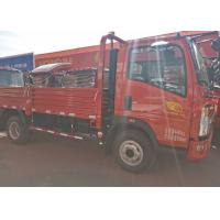 High Attendance HOWO Light Duty Trucks With 4200*1810*400mm Cargo Body Manufactures