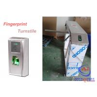 Outdoor Durable Theftproof Fingerprint Turnstile Barrier Gate 304 Stainless Steel Manufactures