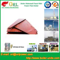 Water Heater Boiler Membrane Wall Tube Boiler Parts Non Pollution Manufactures