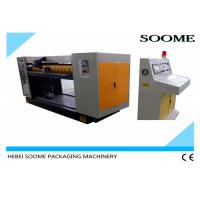 Helical Blade Corrugated Rotary Die Cutter , Reel To Sheet Cutting Machine Manufactures