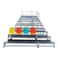 Durable Steel Fixed Arena Bleacher Grandstand System For Exhibition Manufactures