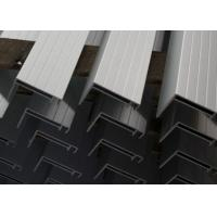 Nautral Aluminum Solar Panel Frame 6063-T5 With Oxidized  / Anodizing Manufactures