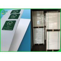 65 * 100 CM High Glossy Coated Art Board Paper With 80GSM 90GSM 100GSM 105GSM Manufactures