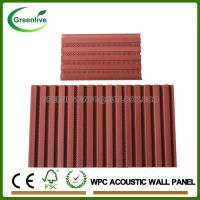 China Wood Plastic Composite WPC Interior Acoustic Wall Panel on sale