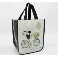 Durable PP Non Woven Bags Silk Screen Printing Foldable With High Bearing Weight 12kg Manufactures