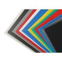 Colored Outdoor Corrugated Plastic Sheets for Exhibition / Information Panel / Warning Sign Manufactures