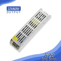 12V 60W led strip power supply rectangular power supply Manufactures