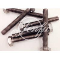 Long Titanium Hex Screws  Grade 2 Cold Forging DIN 933 M16 * 1000  Highly Resistant To Chemical Attack Manufactures