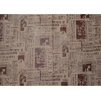 China Grey Artificial Washable Suede Fabric , Microsuede Upholstery Fabric on sale