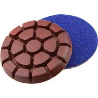 3 Inch Metal Chip Concrete Floor Polishing Pads Grit 50 In Round Shaped Manufactures
