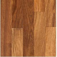 exotic Sucupira solid hardwood flooring with smooth surface Manufactures