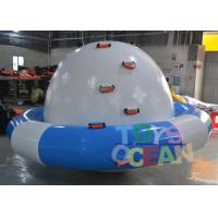 Blue / White Inflatable Turtle Water Saturn For Amusement Water Park Equipment Manufactures
