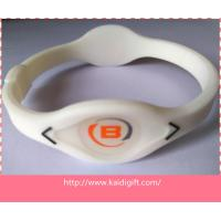 Silicone Powerful Energy Make Your Own Wristband Manufactures