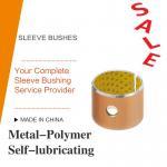 Acetal Resin Liner Metal-Polymer Self Lubricating Sleeve Bushing Thin Wall Burnishing Boring Turning Reaming Assemby Manufactures