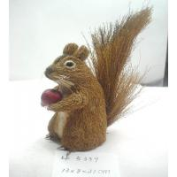 Artificial crafts handmade squirrel,grass easter ornament,easter decoration,easter gifts or use for garden ornament Manufactures