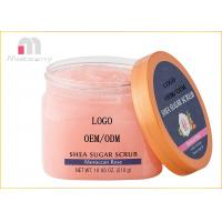 Shea Sugar Moroccan Rose Body Scrub Exfoliting Moisturizes And Whitening Manufactures