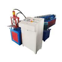 China High Strength Garage Door Roll Forming Machine , Roller Shutter Door Making Machine Weight 2t on sale