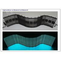 China OEM Flexible LED Panel with 4096Dots / m² pixel Density Synchronization Control on sale