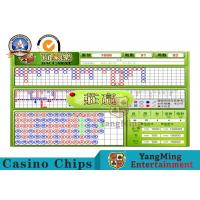 Indoor Casino Baccarat Min Max Board Limit Sign With Baccarat System Manufactures