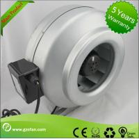 galvanised Sheet Steel Inline Circular Duct Fan Class F Low Noise Manufactures