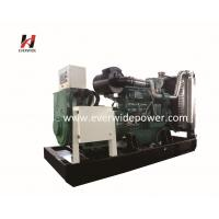 China Water cooled system electric start 400KVA Cummins diesel generator set open and silent type with CE ISO certificate on sale
