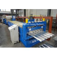 3 Phase Trapezoid Roofing Sheet Roll Forming Machine For 1200mm Manufactures