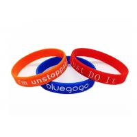 Colorful Rainbow Promotional Products Bracelets Custom Logo For Sports Manufactures