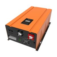 50hz / 60hz Solar Panel Inverter For Home , Yellow Pure Sine Wave Inverter Manufactures