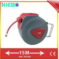 "Auto Rewind Wall Swivel Mounted Retractable Hose air hose reel XBA-02(150D) 3/8""(9.5*15.5mm) 15m (L) Manufactures"