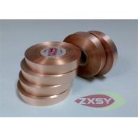 Thin High Conductivity Red Copper Oxide Strip B1013 400mm Max Manufactures