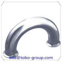 LR 180 Degree Pipe Elbow 8 Inch Carbon Steel Pipe Fittings Elbow Sch40 Manufactures