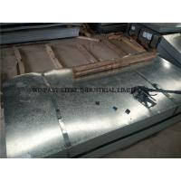 Custom Cutting Galvanized Steel Sheet / Gl Sheets 24 Gauge for Roofing