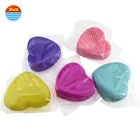 Easily Rinses Clean Silicone Skin Brush Healthy Silicon Sponge Eco - Friendly Material Manufactures