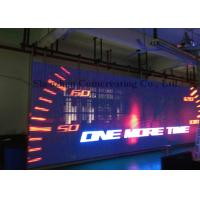 Full color LED video wall high resolution / hanging IP65 LED moving message sign Manufactures