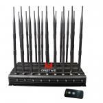18 Antennas 2G 3G 4G WiFi 2.4G Full Bands 130MHz-6GHz Jammer(GW-JA18) Manufactures