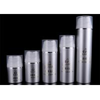 Refillable Airless Foundation Pump Bottle Cosmetic Packaging Screen Printing Manufactures