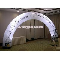 Inflatable Arches For Promotion With Multicolor Led Light 210D PVC Oxford Fabric Manufactures