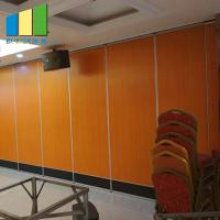 Soundproof Operable Sliding Door Partition Wall For Hotel In Philippines Manufactures