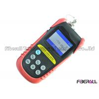Portable Fiber Optic Test Equipment Fiber Optic Power Meter With Auto Power Off Function Manufactures
