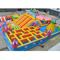 Giant Kids Fun Inflatable Jumping Castle Maze Jumping Bouncy Castle Lead Free Manufactures
