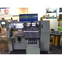Semi automatic notebook spiral wire binding machine SSB420 with spiral lock Manufactures