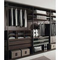 Quality New Metal Plate Wardrobe Step-in Cloakroom E0 Class Environmental Wardrobe for sale