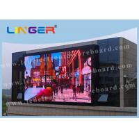 Linger P10 Outdoor Advertising Led Display Screen For Public Advertising Manufactures