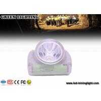 Cordless Led Mining Cap Light Head Lamp with Chargeable USB Charger Digital OLED Screen Manufactures